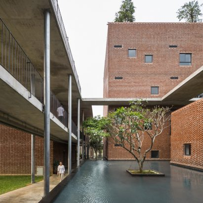 Viettel Academy by Vo Trong Nghia Architects