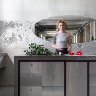 Rina Lovko Studio creates austere interiors for Kyiv's Dicentra flower shop