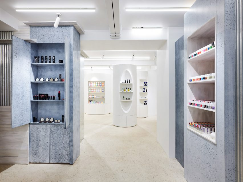 Dover Street Parfums Market, Paris, designed by Rei Kawakubo