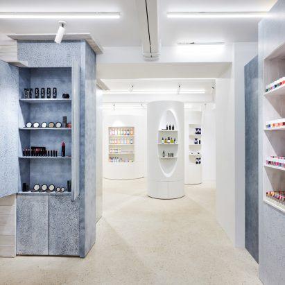 Dover Street Parfums Market, Paris, designed by Rei Kawakubo