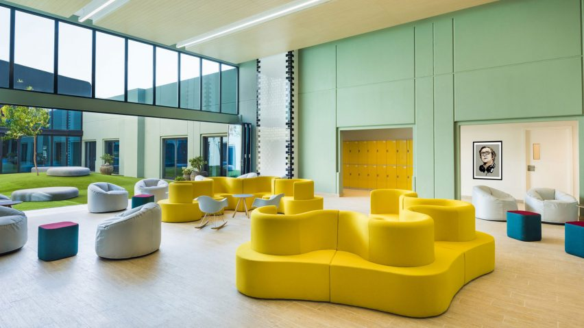 Dubai English Speaking College, Dubai, UAE, by Lulie Fisher Design Studio