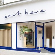 "Exit Here funeral parlour is designed to have ""the eclectic feel of home"""