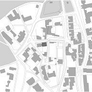 Site plan of Fleet House by Stanton Williams