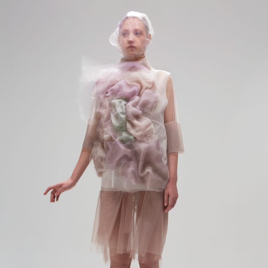 Flowing Water, Standing Time dresses by Ying Gao
