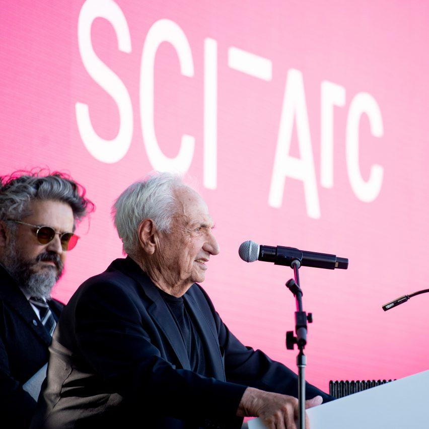 SCI-Arc Frank Gehry graduation