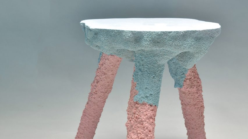 Terraform stools by Gavin Keightley