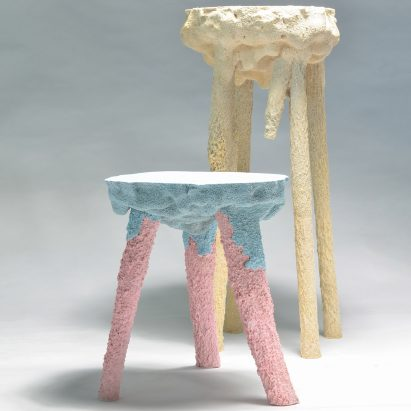 Terraform stools by Gavin Keightley