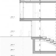 Detailed facade section of Gerrit Rietveld Academy by Studio Paulien Bremmer and Hootsmans Architecten
