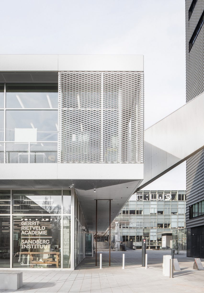 Gerrit Rietveld Academy by Studio Paulien Bremmer and Hootsmans Architecten
