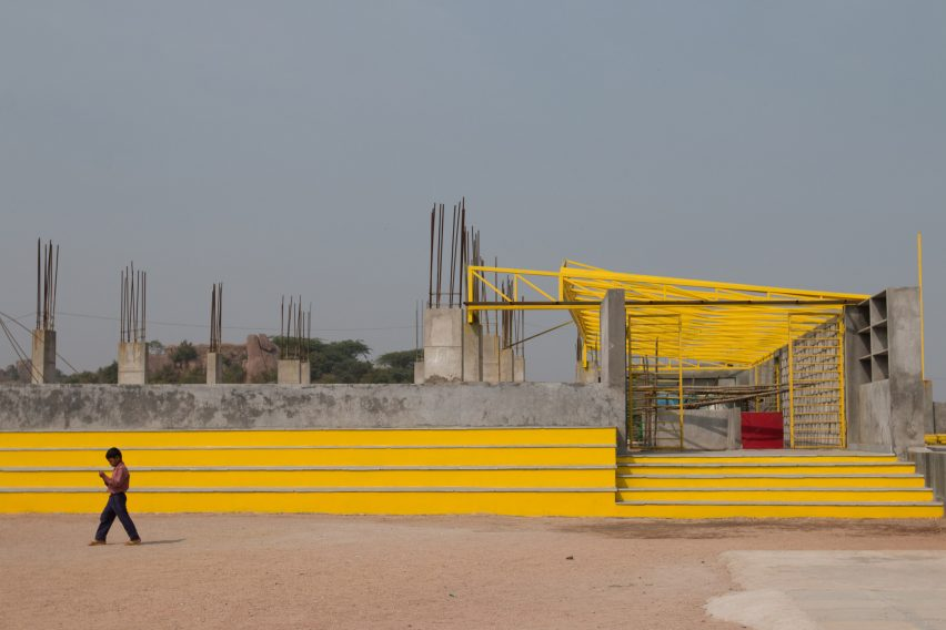 Hilltop School by DesignAware in Hyderabad, India