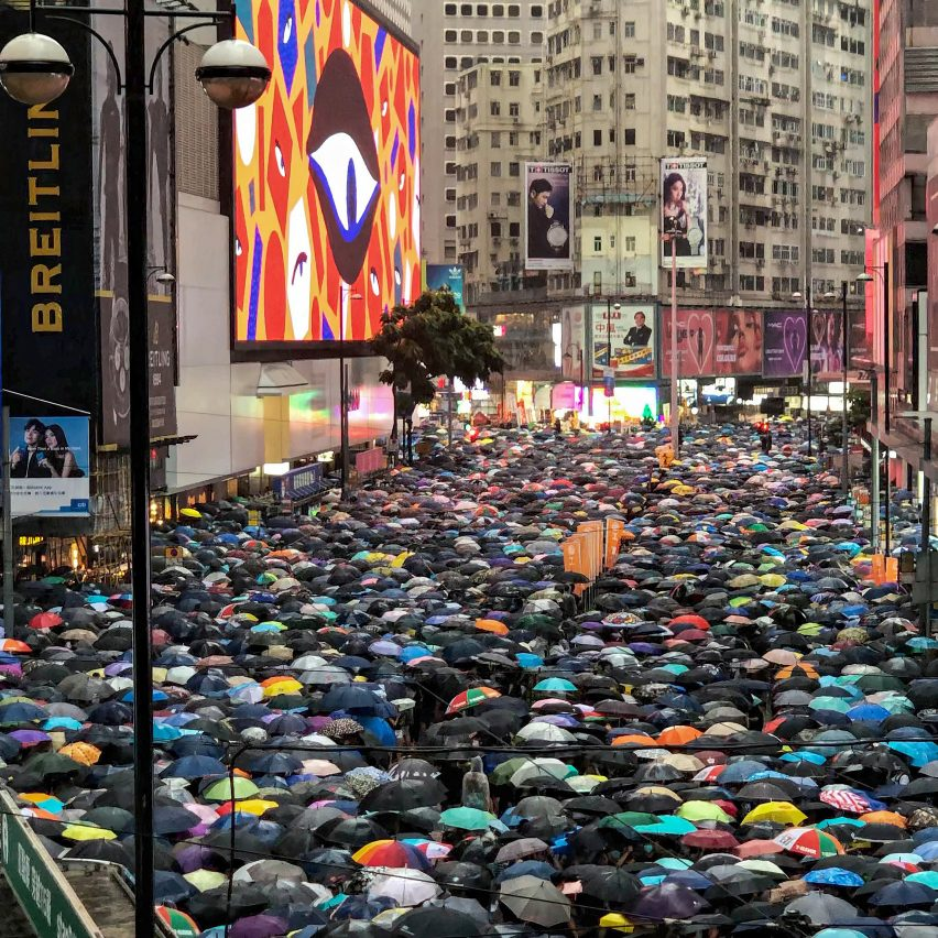 Facial recognition used in Hong Kong protests