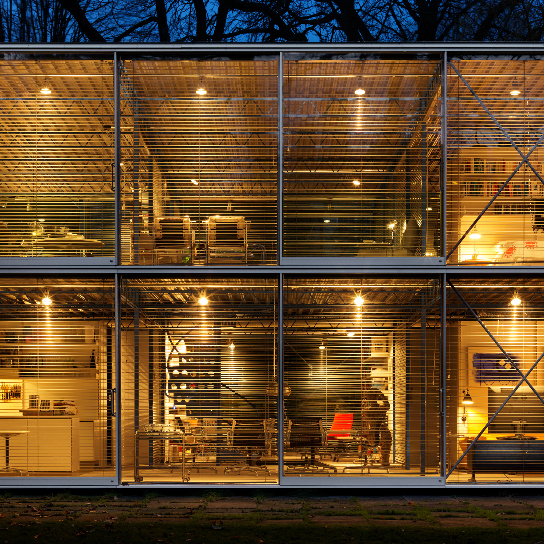 High-tech buildings: Hopkins House by Micheal and Patty Hopkins