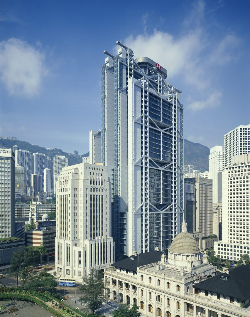 HSBC Building in Hong Kong by Norman Foster
