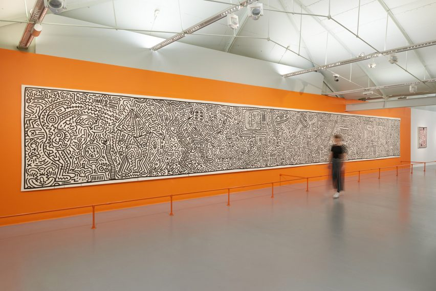 InterestingProjects evoke 80s New York for Keith Haring exhibition design