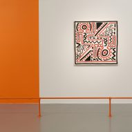 InterestingProjects evoke 1980s New York for Keith Haring exhibition design