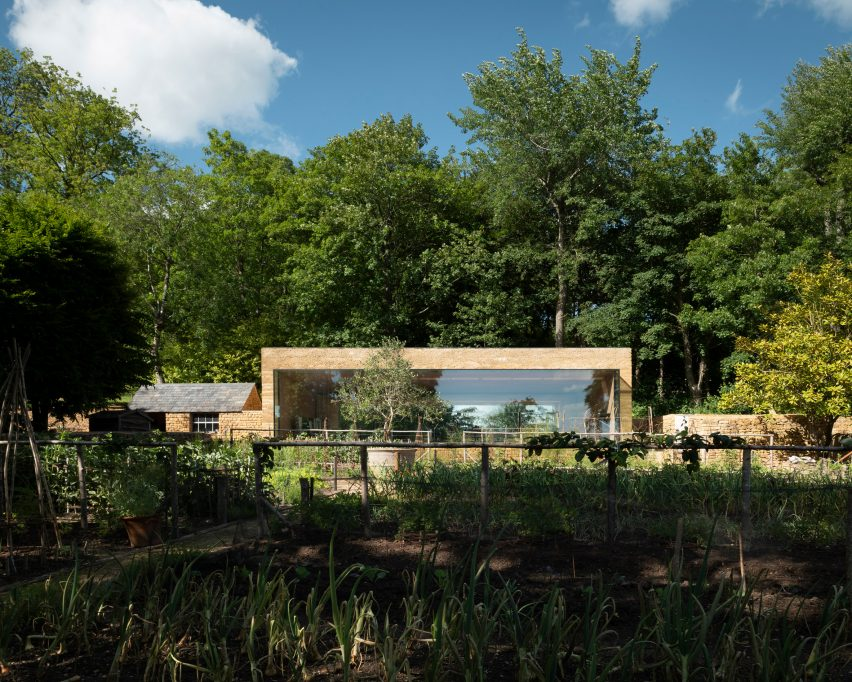 Room in a Productive Garden at The Newt in Somerset Hotel at Hadspen House, Somerset by Invisible Studio