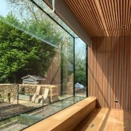 Room in a Productive Garden in Hadspen House, Somerset by Invisible Studio