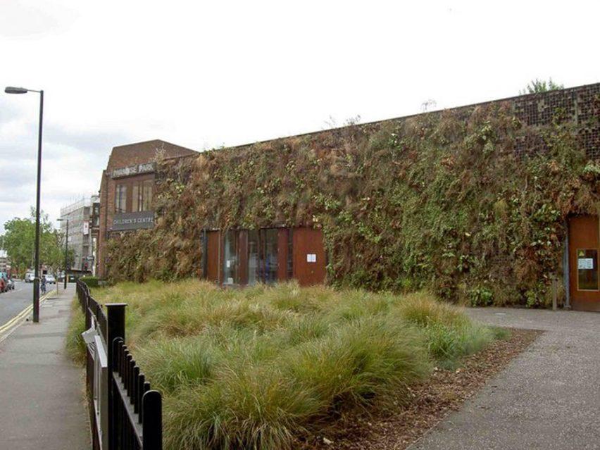 Celine Baumann story, Islington's dead living wall