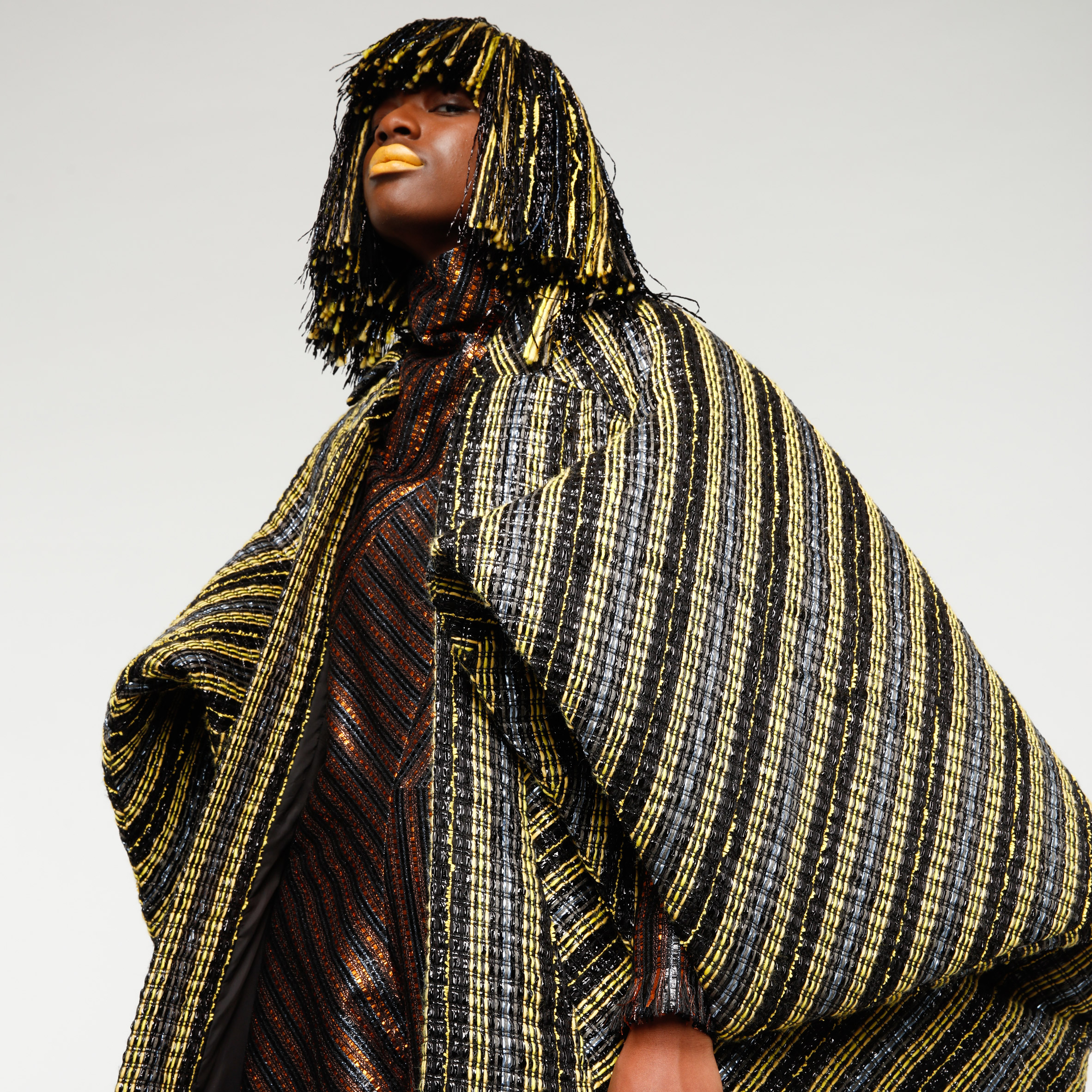 Benjamin Benmoyal Makes Garments From Recycled Cassette Tapes