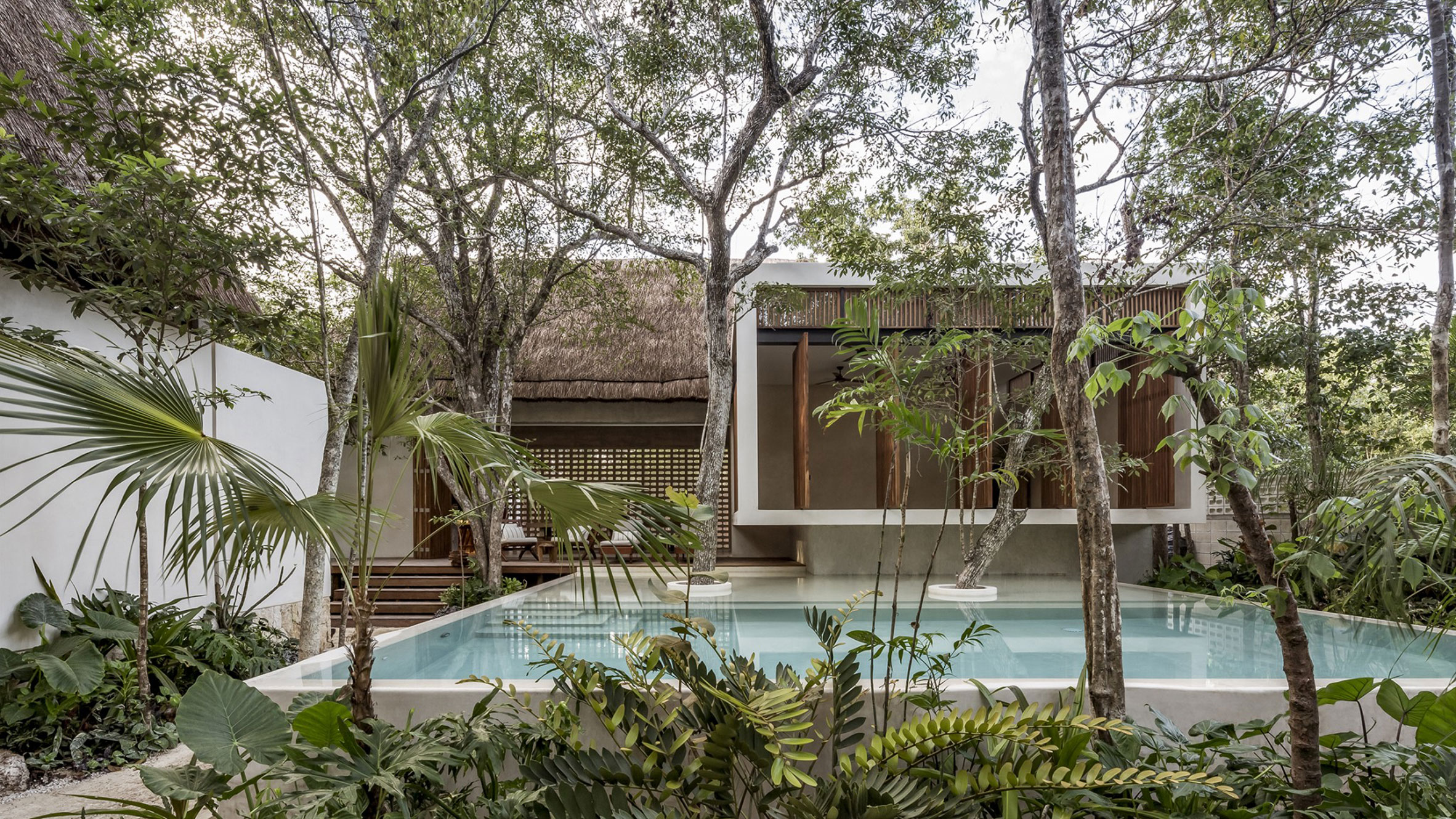 Jungle Keva hotel, Tulum, Mexico, by Jaquestudio