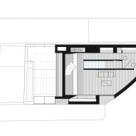 First floor plan of K House by ArchitectsTM