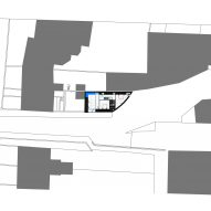 Site plan of K House by ArchitectsTM