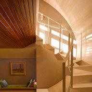 "ArchitectsTM cuts copper-clad ""light scoop"" through Dublin home"