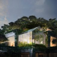 BIG reveals penthouses in Toronto's plant-covered King complex