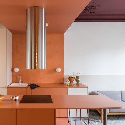 Klinker Apartment by Colombo and Serboli Architecture