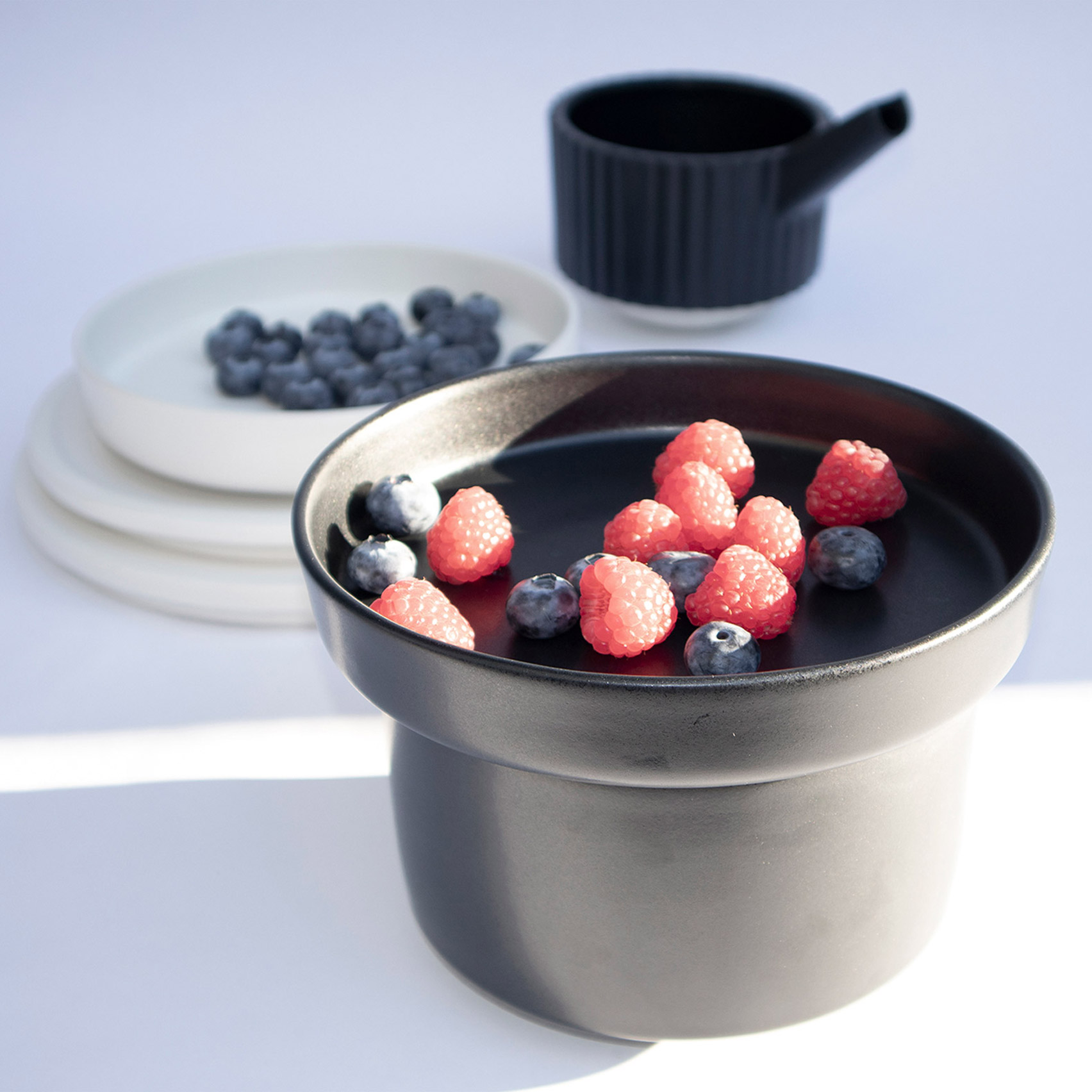 Irina Flore Creates Mix And Match Ceramic Containers Bowls And Plates