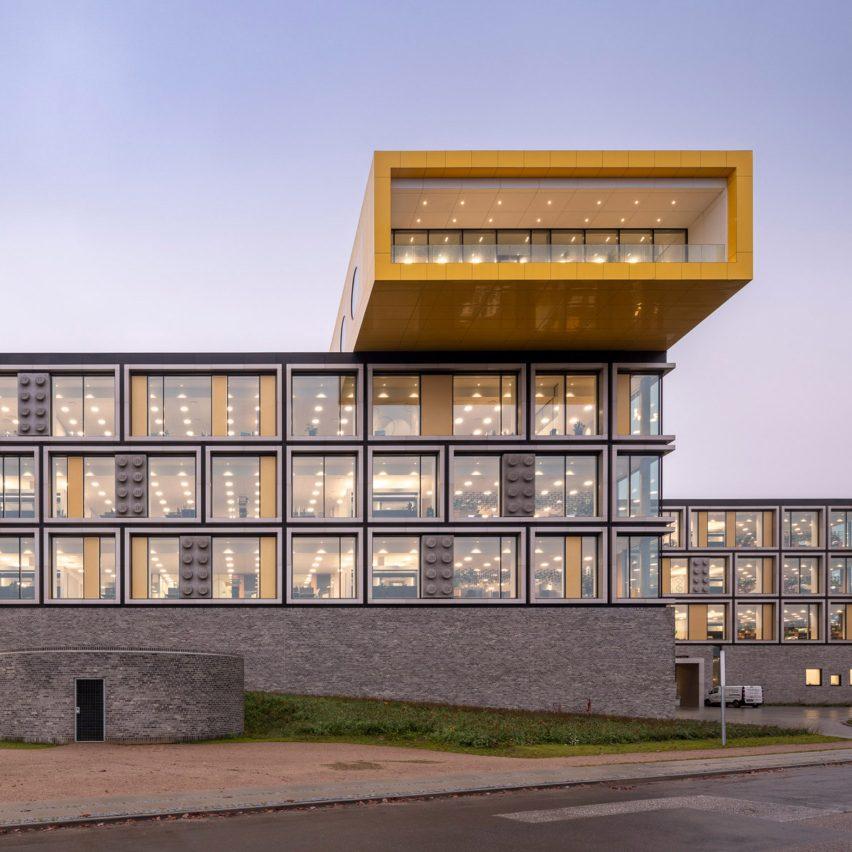 Billund Lego campus phase one by C F Møller Architects