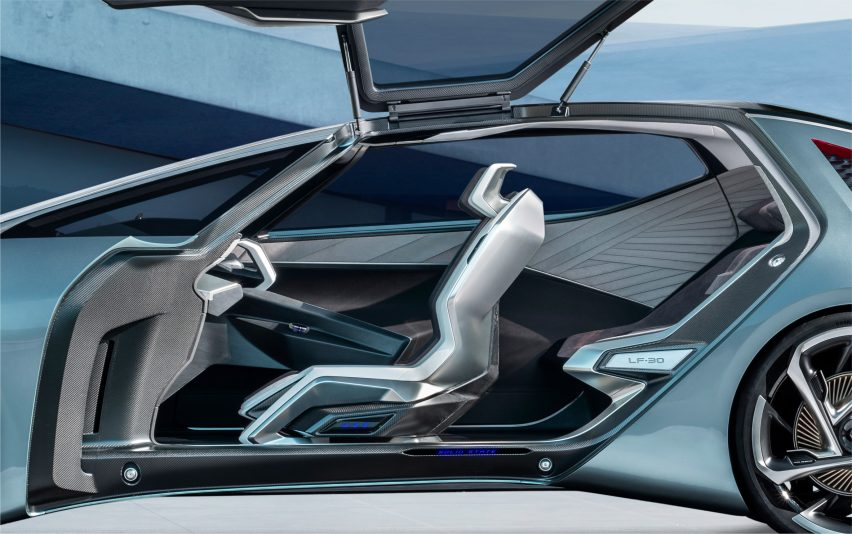 """Lexus designs LF-30 Electrified concept to engender """"mutual understanding"""" between car and driver"""