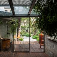 JC Architecture transforms derelict dormitory into plant-filled home