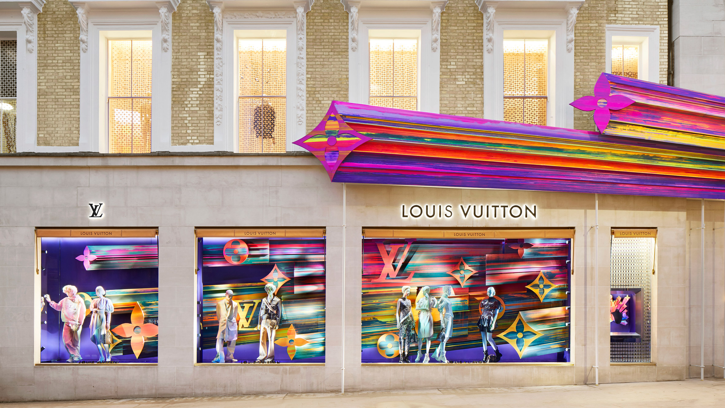 Peter Marino channels happiness for renovation of Louis Vuitton store in west London