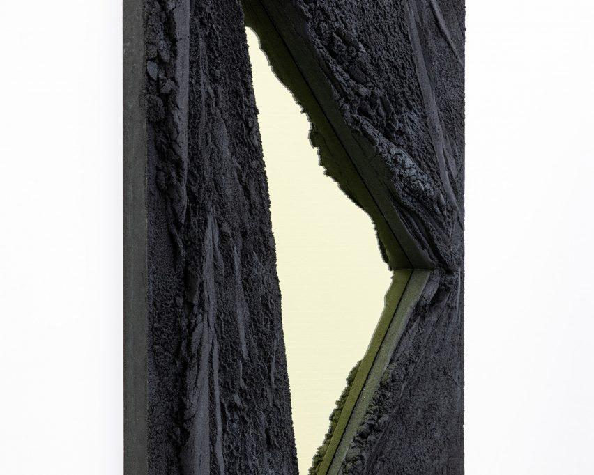 Magma mirrors by Fernando Mastrangelo