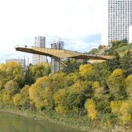 Mechanized River Valley Access Bridge by Dialog Drawing
