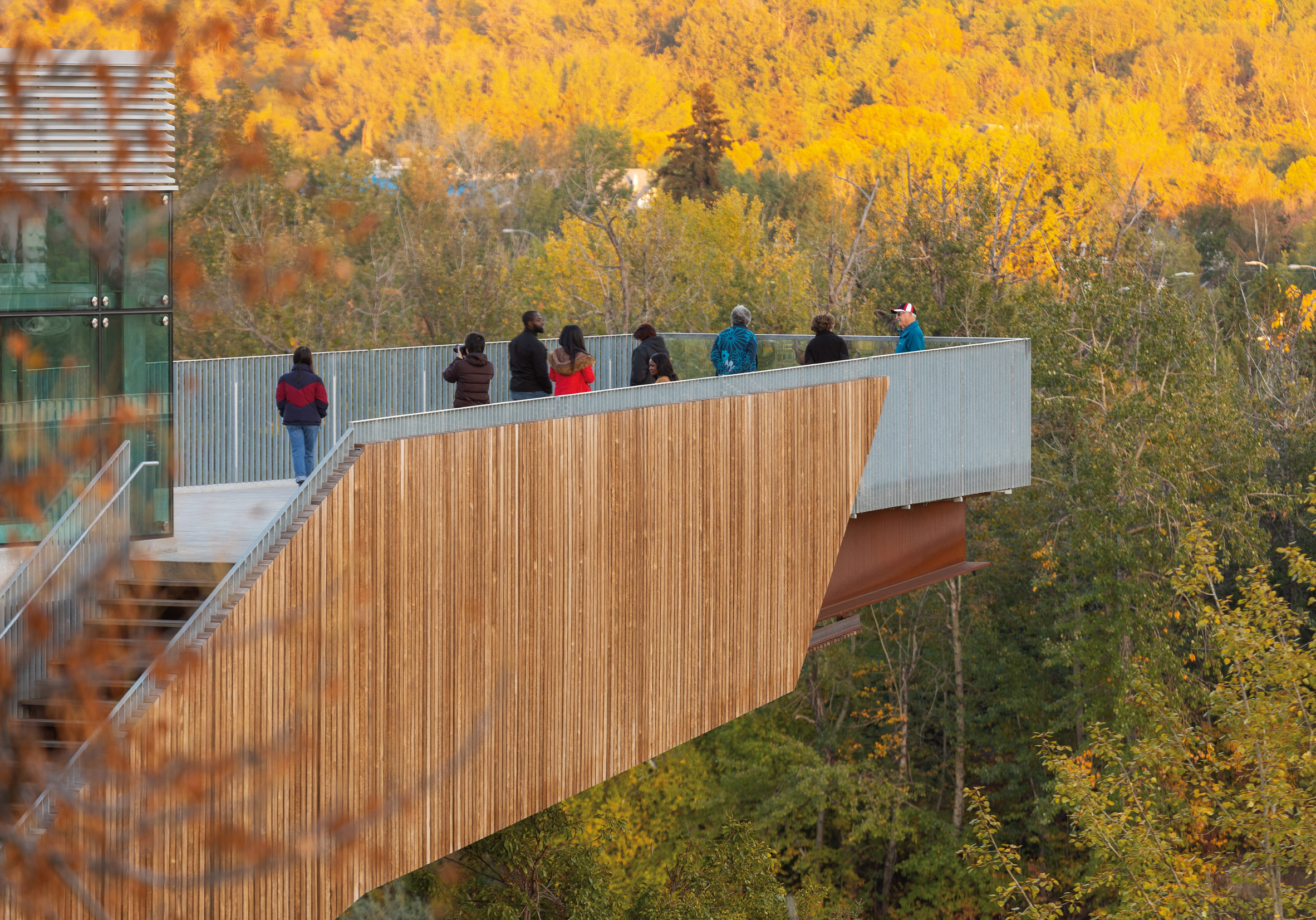Mechanized River Valley Access Bridge by Dialog