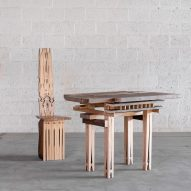 Micheline Nahra deconstructs and reconstructs a dining set