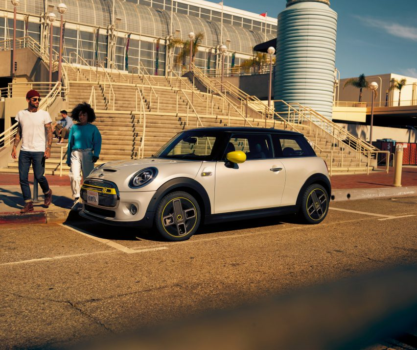 The MINI Cooper SE is the brand's first all-electric vehicle