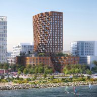 MVRDV, Studio Gang and Henning Larsen unveil towers for San Francisco's Mission Rock development