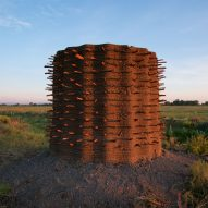 Rael San Fratello 3D prints earth structures to demonstrate potential of mud architecture