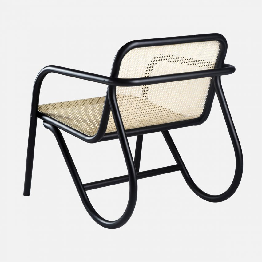 Michael Anastassiades designs N. 200 chair using classic steam-bending technique