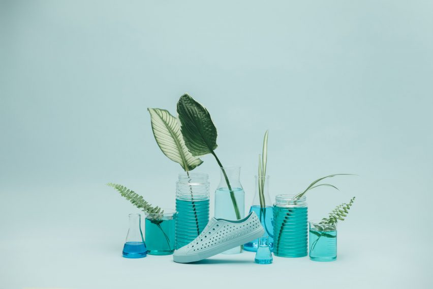 Native Shoes create trainers from single piece of algae-laced foam
