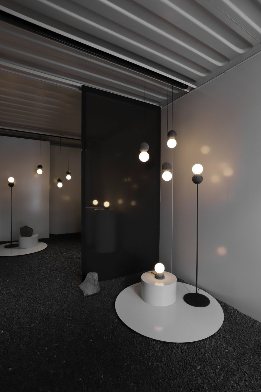 Origo wall and Origo floor lights by Studio davidpompa