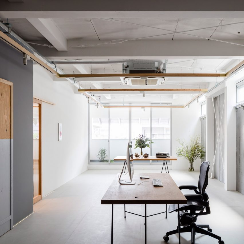 Panda minimal office by Shimpei Oda Architect Office and Atelier Loowe