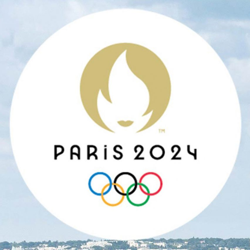 Emblem for Paris Olympics combines gold medal and Marianne's lips