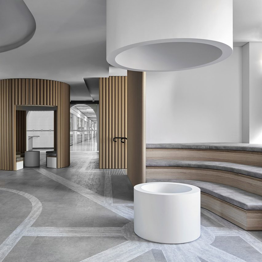 Piazza Dell'Ufficio office designed by Branch Studio Architects