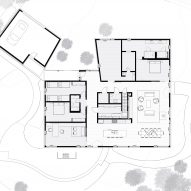 Ravine House by Wheeler Kearns Floor Plan