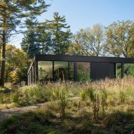 Wheeler Kearns designs low-lying Ravine House for nature lovers in Illinois