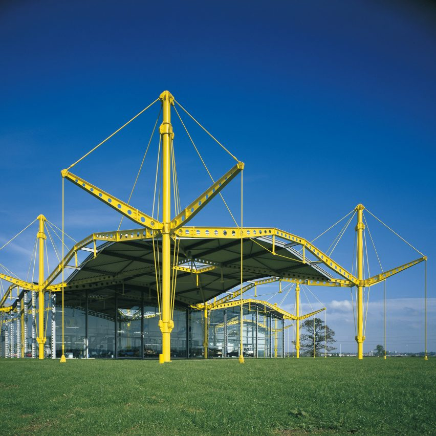 High-tech architecture from A to Z: Renault Distribution Centre by Norman Foster